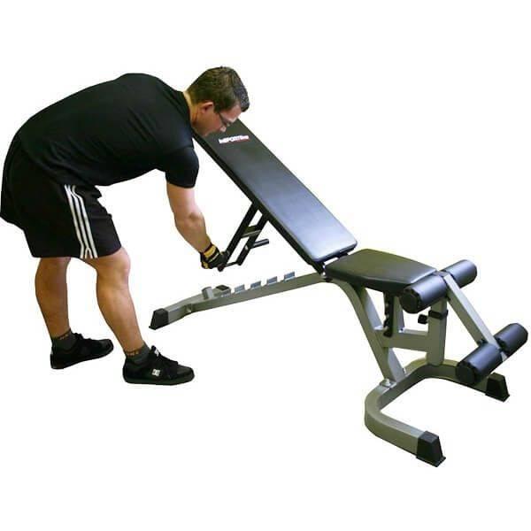 Bilde av InSPORTline Sit up treningsbenk Profi
